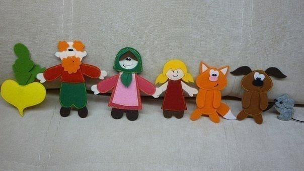 игрушки из фетра своими руками