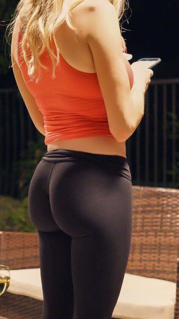 спортивная задница