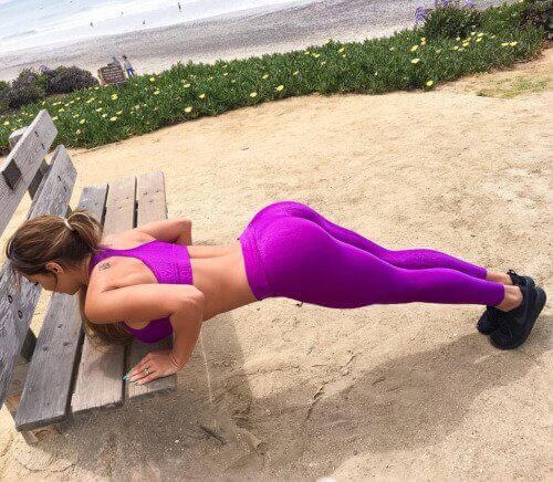 фитнес задница