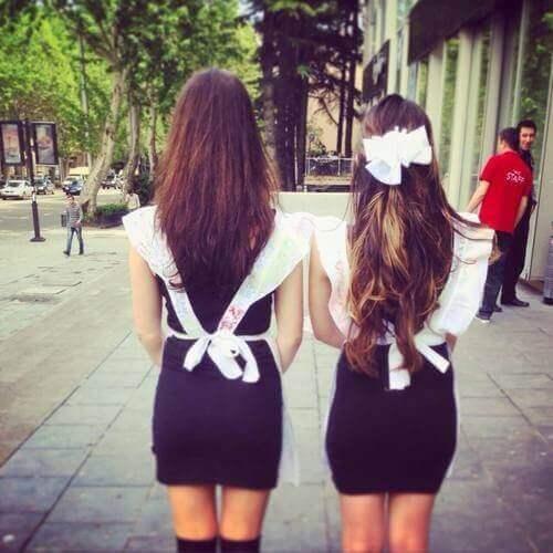 фото выпускниц в платьях шок