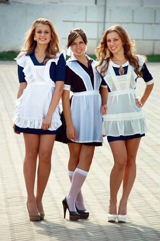 фото выпускниц в платьях
