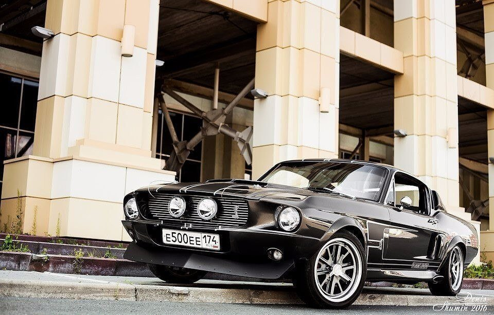Фото Ford Mustang GT 500