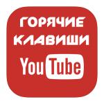 Горячие клавиши в Ютуб (YouTube)