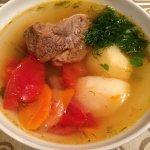 Шурпа из баранины - классический рецепт с фото