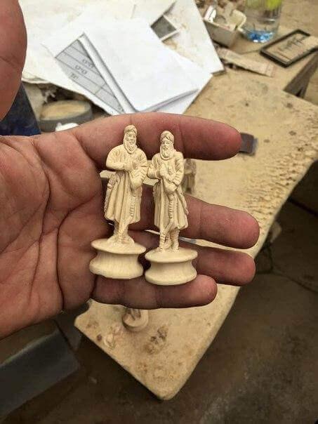 сувенирный шахматы подарочный вариант