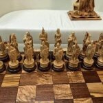 Резные шахматы из дерева ручной работы — лучшие работы #1