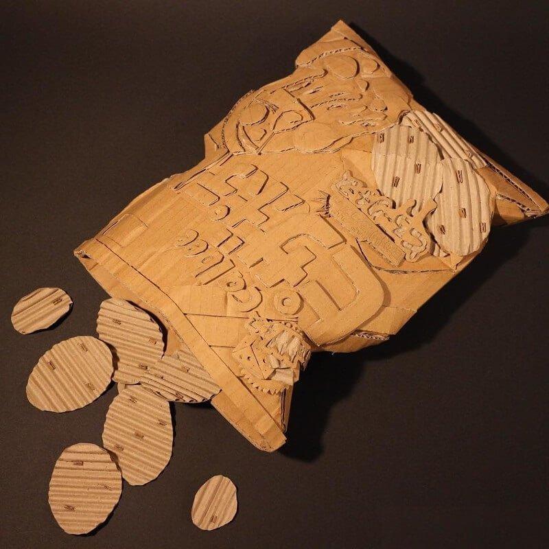 поделки из картонной коробки своими руками