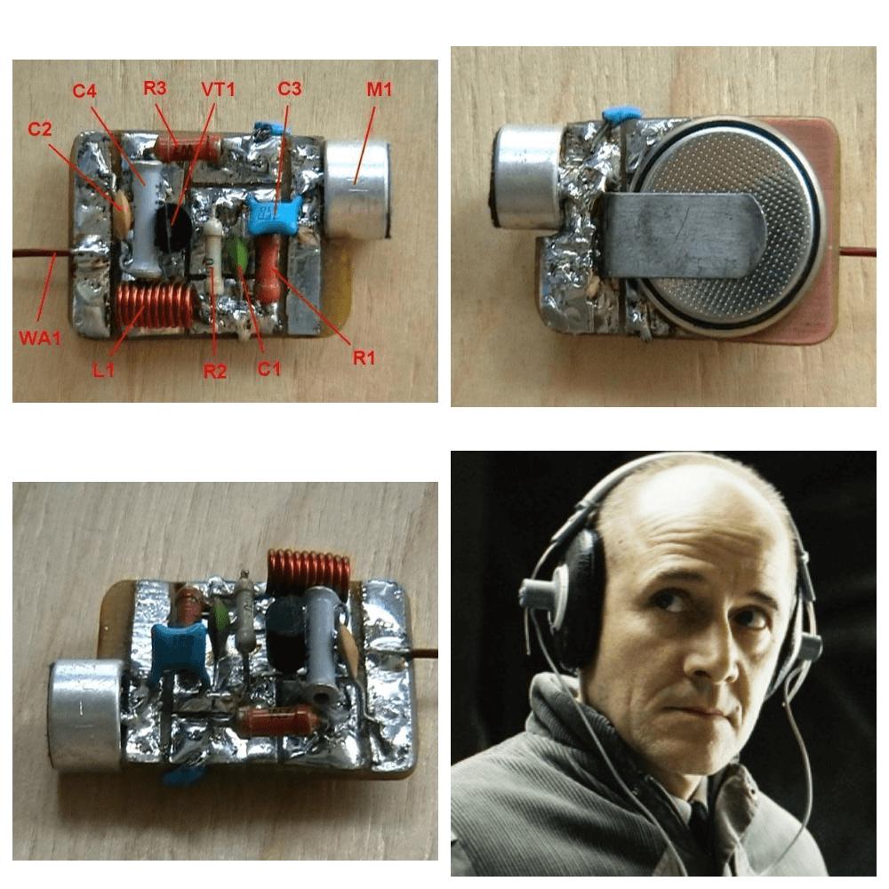 простейшее устройство для прослушки на расстоянии