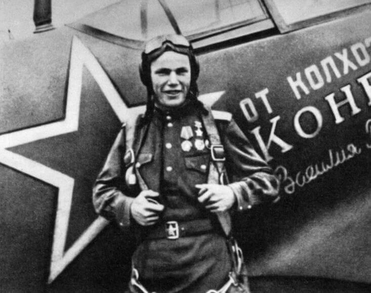Иван Никитович Кожедуб летчик герой СССР