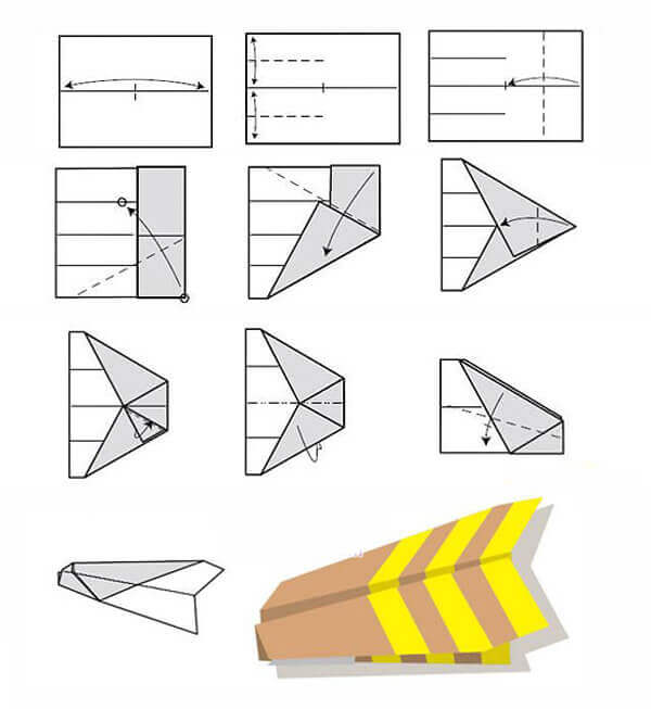 самый лучший бумажный самолёт