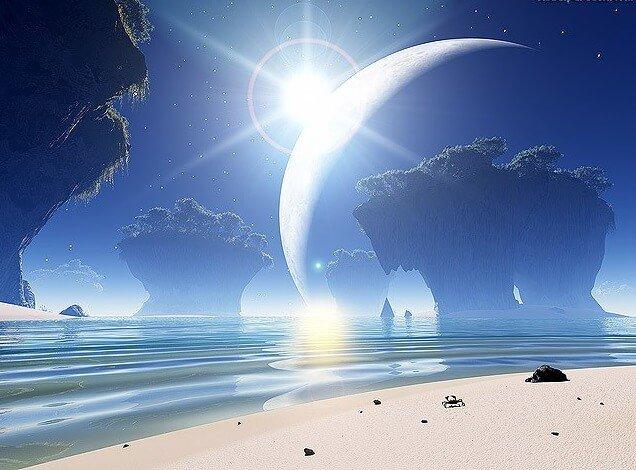 рассветы на других планетах