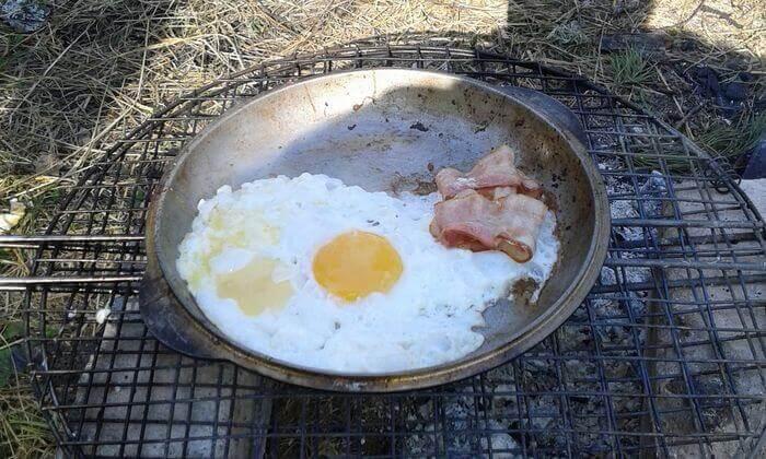 завтрак на природе фото