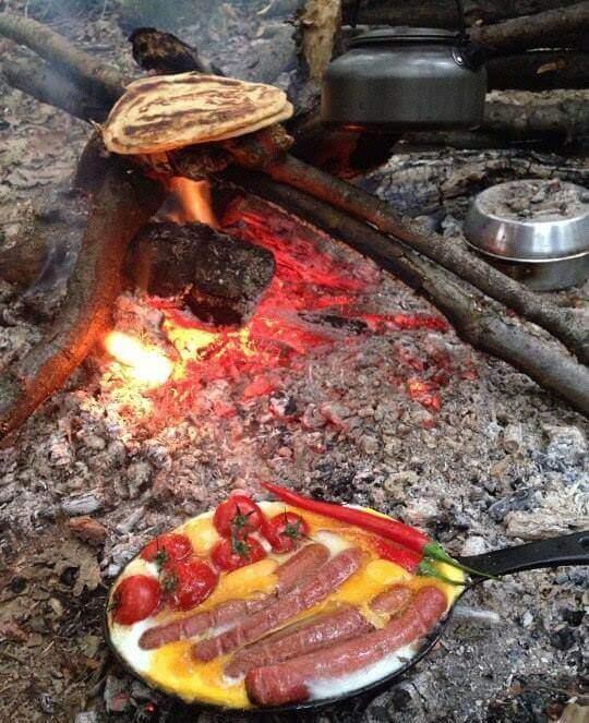 лучший завтрак на природе