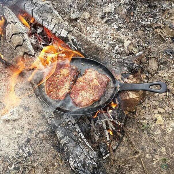 свинина на углях