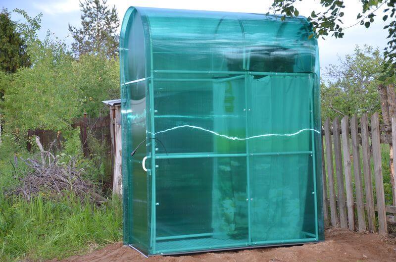 как построить душ на дачу
