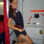 Красивые и привлекательные стюардессы (Фото)