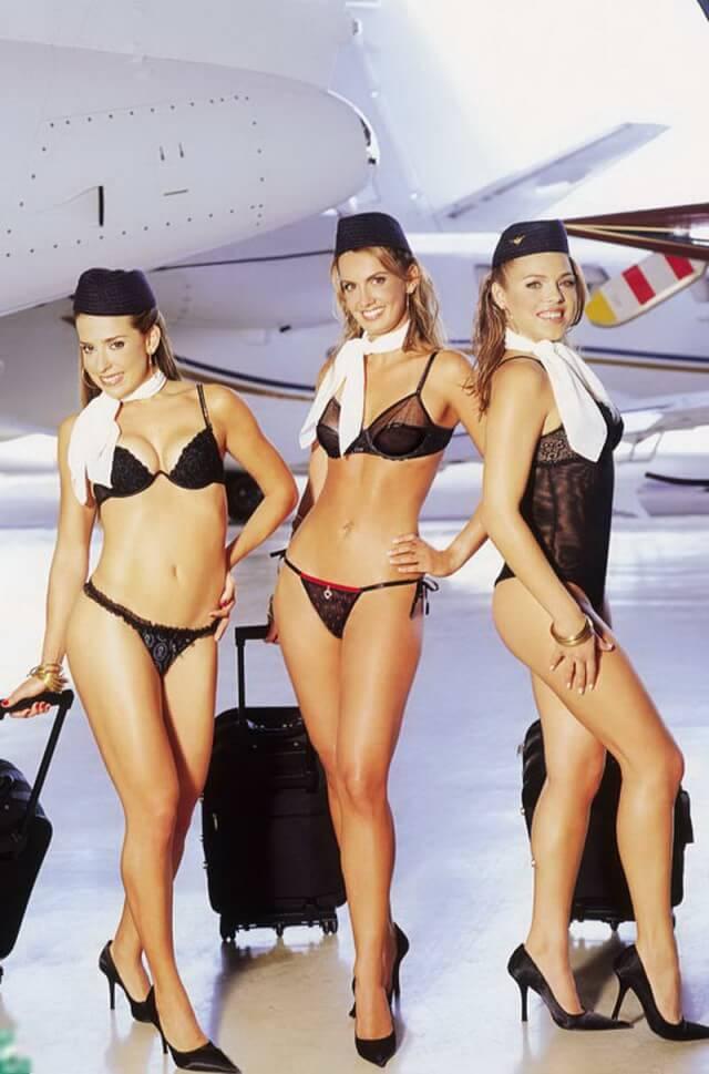 самые красивые стюардессы