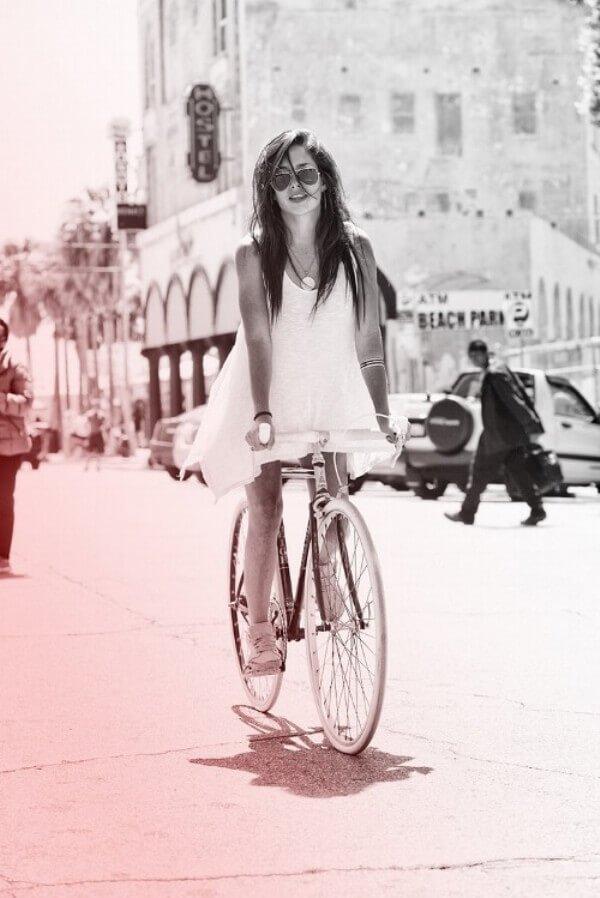 красивые велосипедистки фото