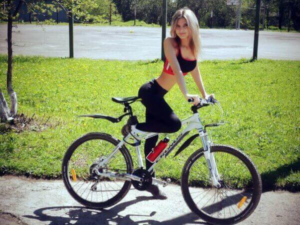 велосипедистки фото приколы ню