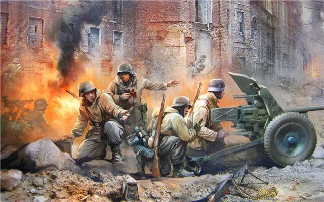 рисунки про вторую мировую войну