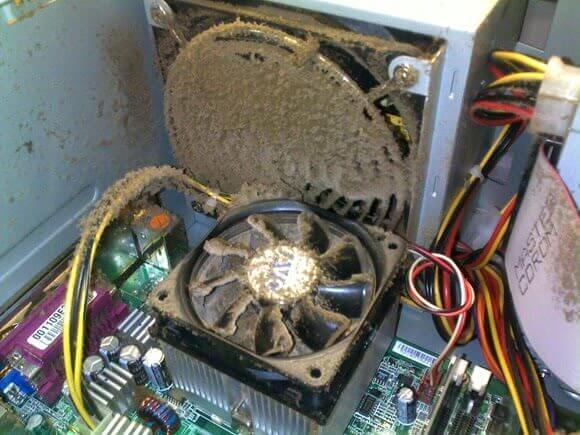 причины шума от компьютера
