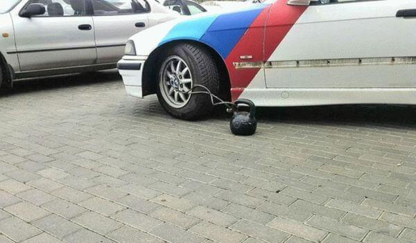 наказание за неправильную парковку фото