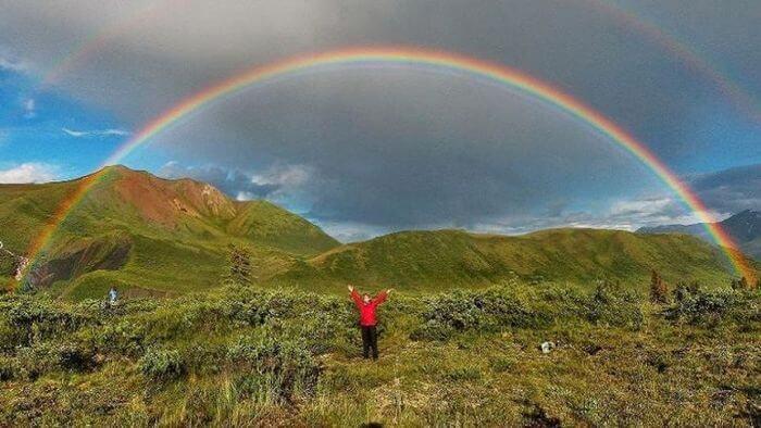 начало радуги конец радуги