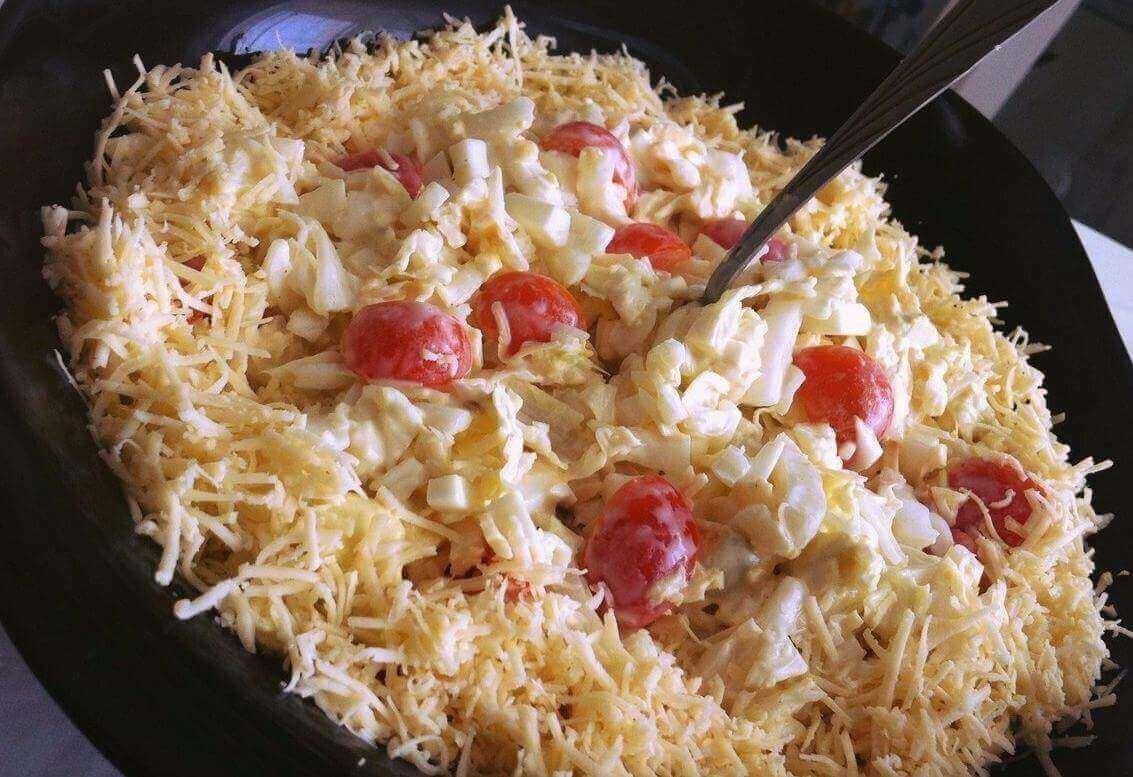вкусный рецепт салата с пекинской капустой