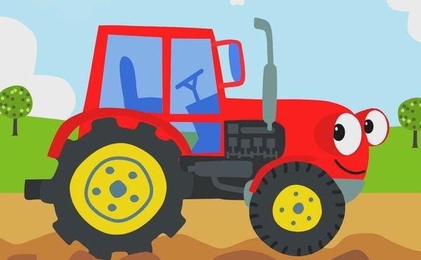 сказка на ночь про трактор