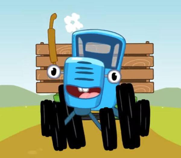 cказка про трактор читать для детей