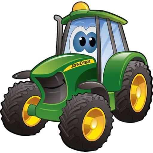истории про трактор для детей