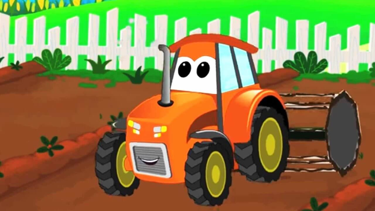 рассказы про тракторы и технику на ночь читать