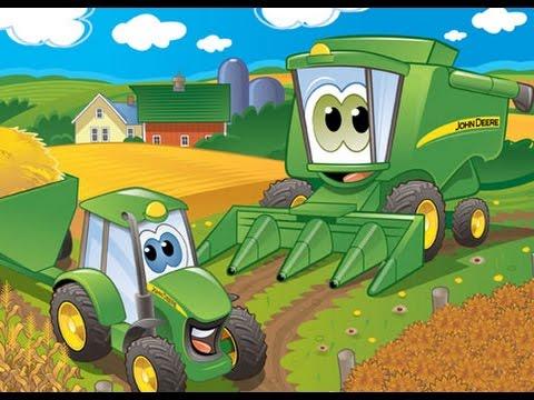 сказка про трактор кран и грузовик
