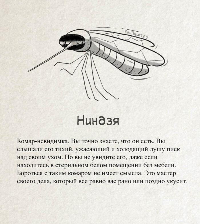 новые виды комаров