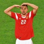 Жест Дзюбы после гола - что означает рука к голове в матче с Египтом