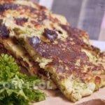 Ленивые хачапури с сыром на сковороде - быстрый рецепт