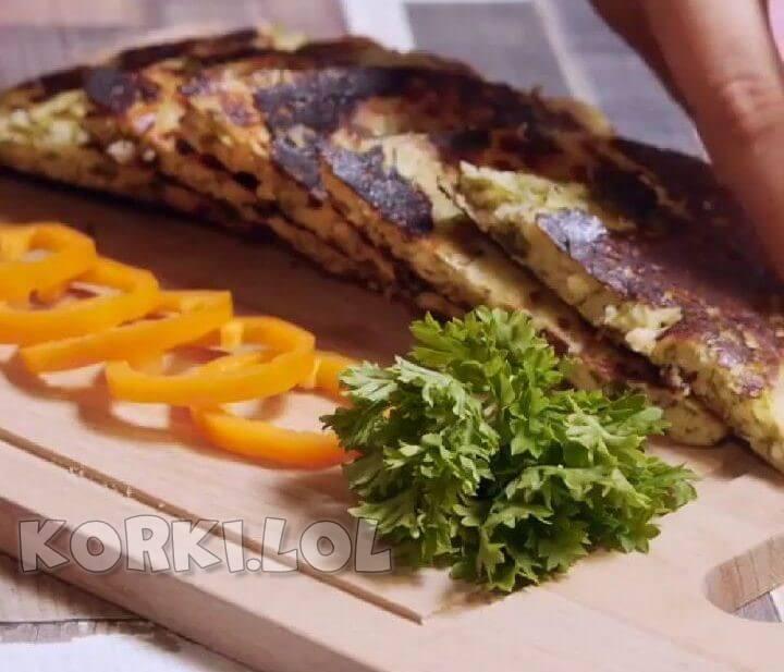 Ленивые хачапури с сыром и творогом рецепт