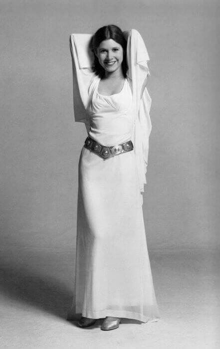 фотографии принцесса Лея Органа.