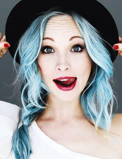 цветное окрашивание волос фото