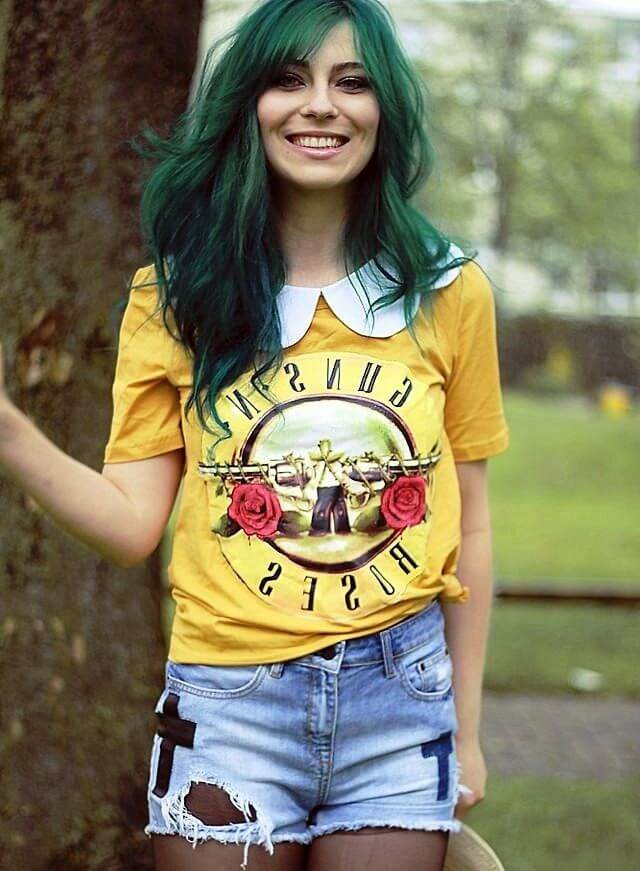 цветные оттенки волос фото