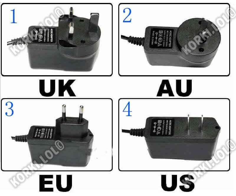 что значит US plug UK plug EU plug