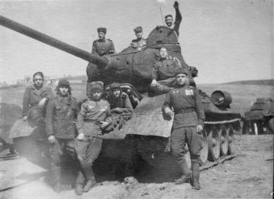 война танкисты фото