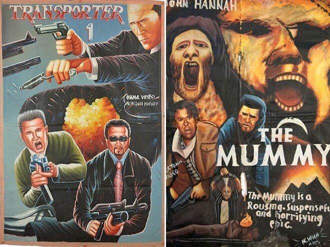 смешные постеры фильмов