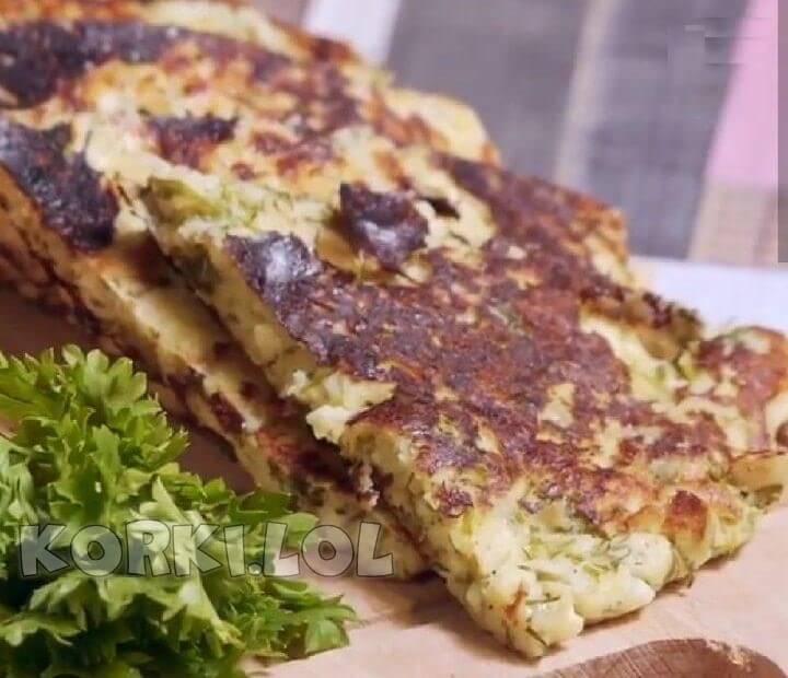 ленивые хачапури на сковороде