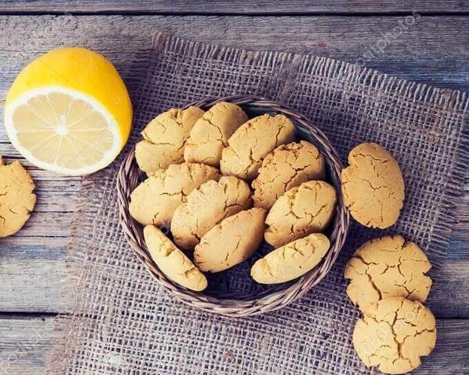вкусное лимонное печенье рецепт